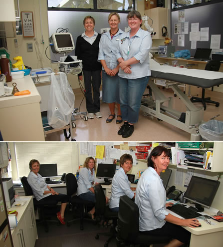 Nurses at Whangamata Medical Centre